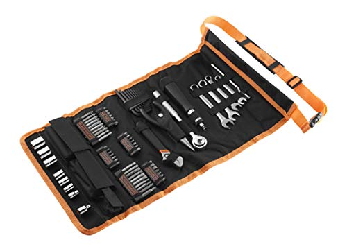 Black+Decker 76-teilig Handliche Roll-Tasche...
