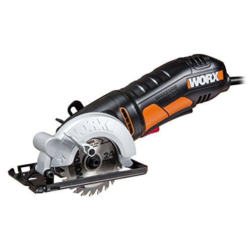 WORX WX423 WORXSaw Kreissäge 400W zum Sägen...