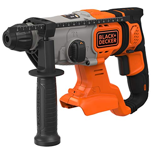 Black+Decker 18V SDS-plus Akku-Kombihammer...
