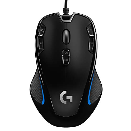 Logitech G300s Gaming-Maus mit 2,5K DPI...