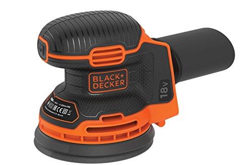 Black+Decker BDCROS18N Akku-Exzenterschleifer...