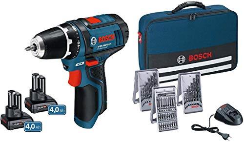 Bosch 0615990HV1 GSR 12V-15 + 2x 4,0Ah in...