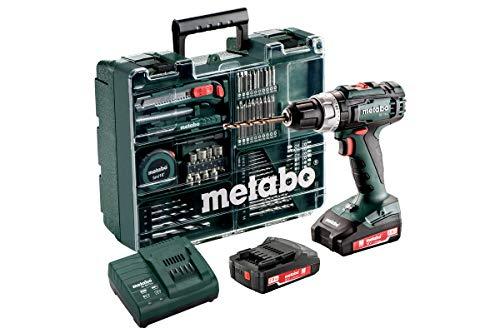 Metabo 602317870 Bohrschrauber BS 12 Set (mit...