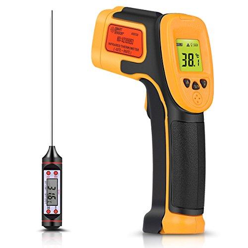 Infrarot Thermometer, Digitaler IR Laser...