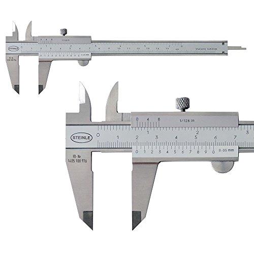 STEINLE 1102 Taschen Messschieber 150 mm mit...