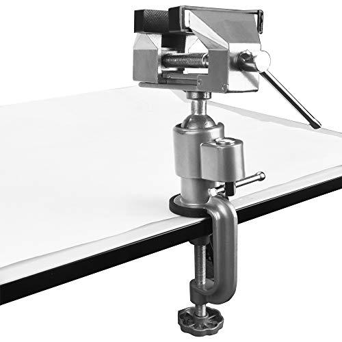 XAVSWRDE Mini Schraubstock Aluminiumlegierung...