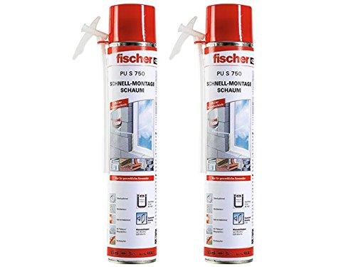 Fischer 40301 Schnellmontageschaum PU S 750...
