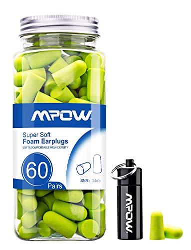 Mpow 055A Ohrstöpsel Gehörschutz 60 Paar,...