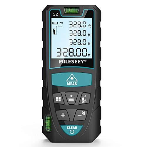 Laser Entfernungsmesser, Mileseey 100m...