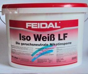 Feidal Iso Weiß LF, Nikotinsperre / 10...