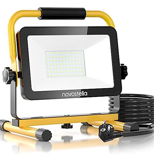 Novostella LED Baustrahler 60W 6000LM...