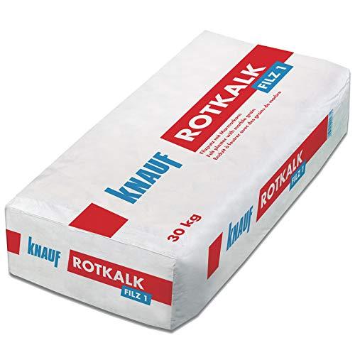 Knauf Rotkalk Filz 1mm Filzputz mit...