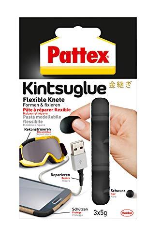 Pattex Kintsuglue Flexible Knete schwarz /...