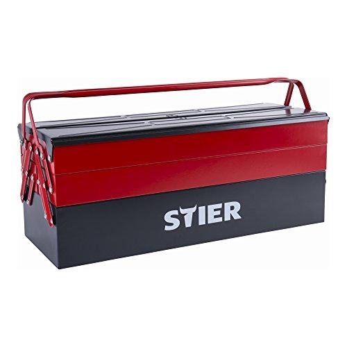STIER Werkzeugkasten leer, sehr robust und...