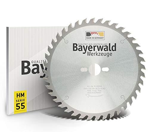 Bayerwald - HM Tischkreissägeblatt Ø 254 mm...