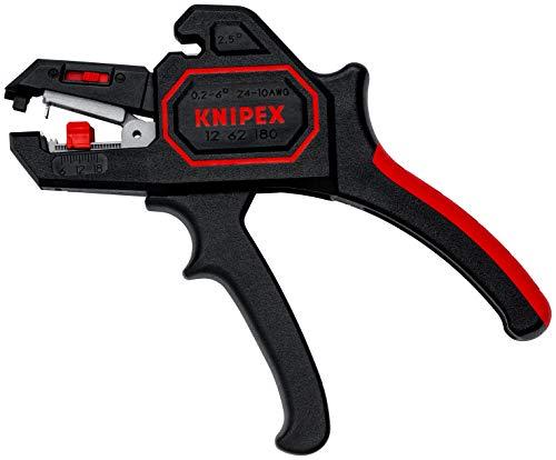 KNIPEX 12 62 180 Automatische Abisolierzange...