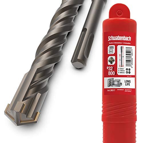 SCHWABENBACH ® SDS Plus Bohrer 32mm x 800 -...