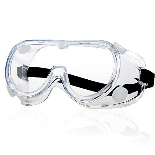 Schutzbrille - Anti Nebel Klar Augenschutz...