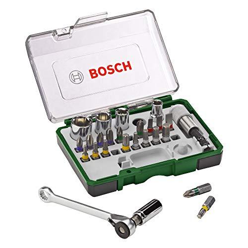 Bosch 27tlg. Schrauberbit- und Ratschen-Set...