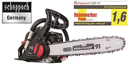 Scheppach Benzin Kettensäge CSP41 (2 PS,...