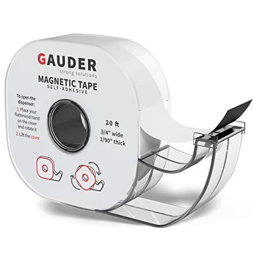 GAUDER Magnetband selbstklebend im Spender I...