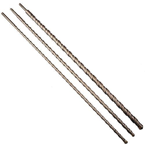 Betonbohrer 3 tlg Set SDS PLUS 12-16-24 mm x...