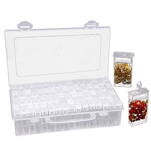 Galapara Abnehmbar Perlen Box Plastik...