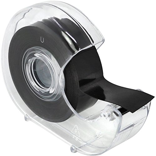 com-four® Selbstklebendes Magnetklebeband...