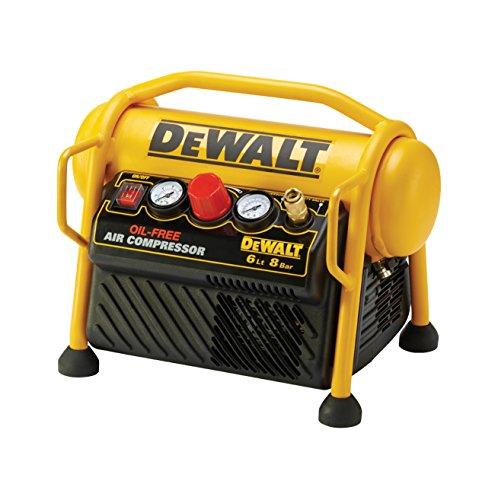 DeWalt mobiler Kompressor (1100 W, 6 L, 8...