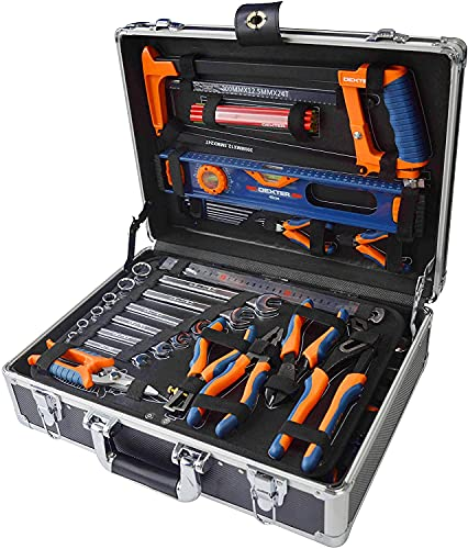 DEXTER - 130-teiliger Werkzeugkoffer - mit...