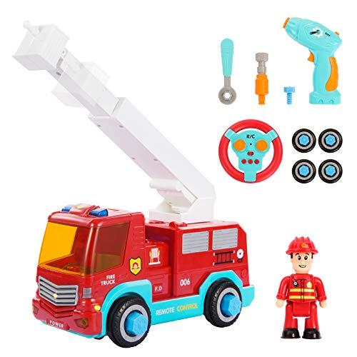 SGILE Ferngesteuertes Feuerwehrauto mit...