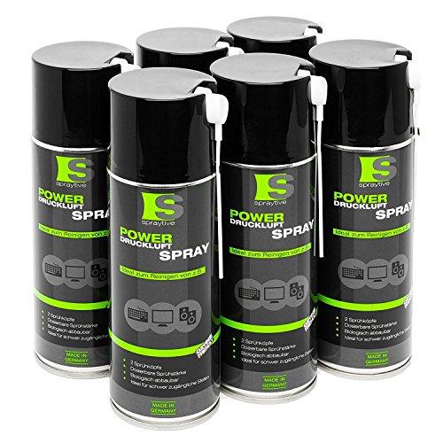 6 x 400ml Spraytive Power...