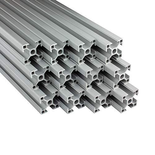 Alu Profil 12 Stück 30x30mm 2m System-,...