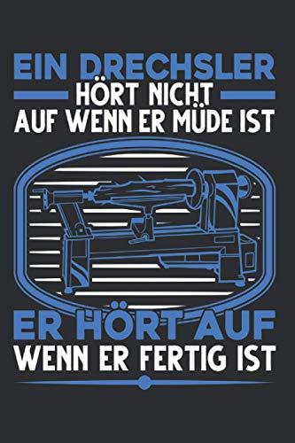 Drechsler Notizbuch: Drechsler Spruch Holz...