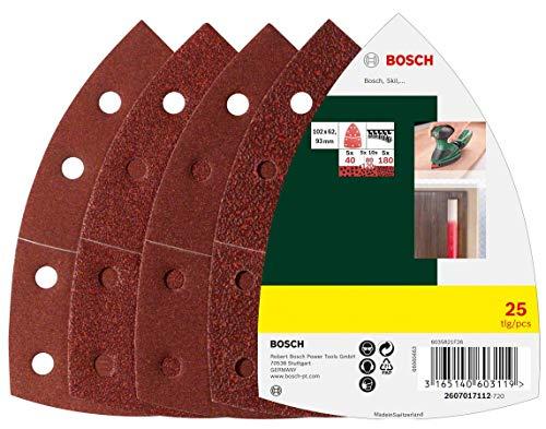 Bosch 25tlg. Schleifblatt Set (verschiedene...