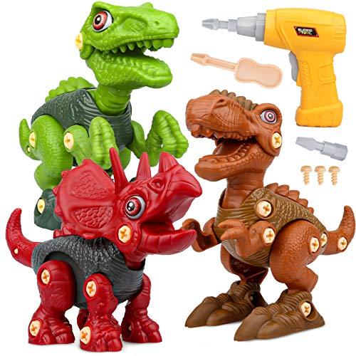 Vanplay Dinosaurier Montage Spielzeug mit...