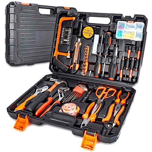 102-Teiliges Werkzeugkoffer Premium Universal...