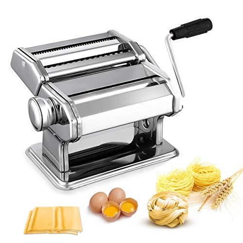 Nudelmaschine Pasta Maker Edelstahl Frische...