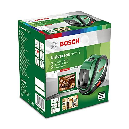 Bosch Kreuzlinienlaser UniversalLevel 2 Set...
