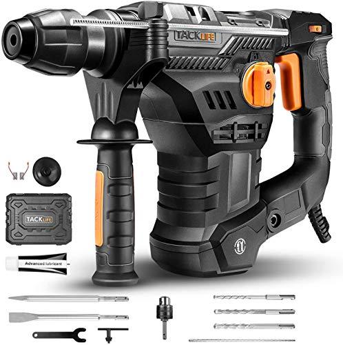 Bohrhammer, TACKLIFE 1500W 7J Abbruchhammer...