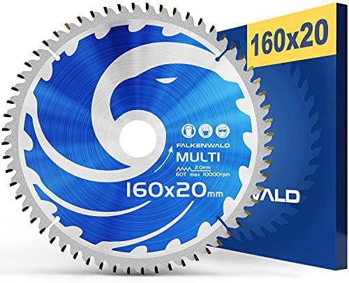 FALKENWALD ® Sägeblatt 160x20 mm - Ideal...