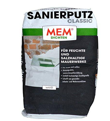 MEM Sanierputz Classic 25 kg weiss - Isoputz...