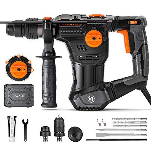 Bohrhammer, TACKLIFE 1050W Abbruchhammer mit...