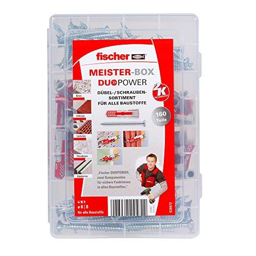 fischer MEISTER-BOX DUOPOWER + Schraube,...