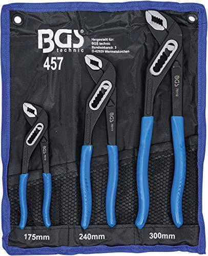 BGS 457 | Wasserpumpenzangen-Satz | 3-tlg. |...