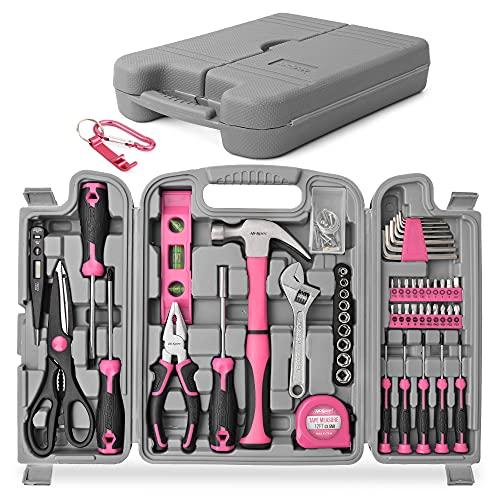 Hi-Spec 53-teiliges Werkzeugset in Pink/Rosa....