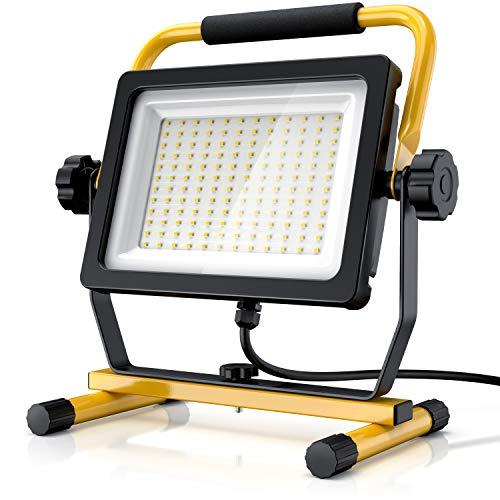Brandson - 100W LED Baustrahler 144 SMD LEDs...