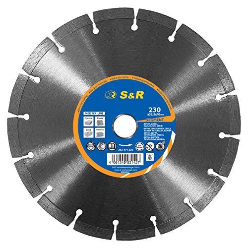 S&R Diamanttrennscheibe 230x22,2 mm Standard,...