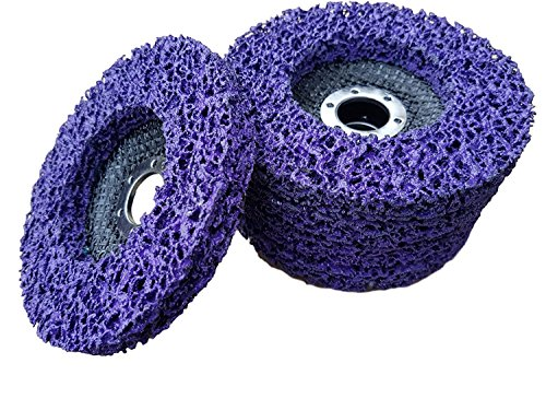 5 x Rostio CSD Scheibe 125 mm Lila   purple...