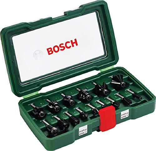 Bosch 15tlg. Hartmetall Fräser Set (für...